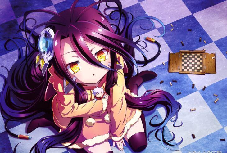 No Game No Life Anime Tentang Penjudi Jenius