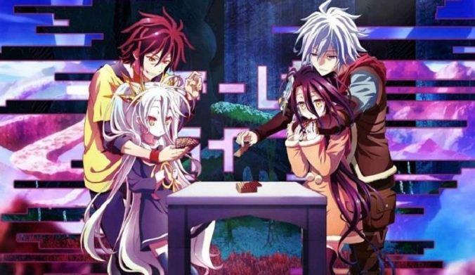 No Game No Life : Anime Perjudian Terbaik